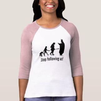 """Human Evolution_5"" Lad 3/4 Sl. Rag. Fit. Template T-Shirt"
