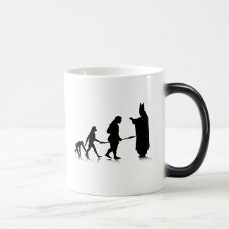 Human Evolution_5 Magic Mug