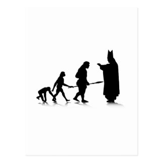 Human Evolution_5 Postcard