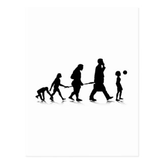 Human Evolution_6 Postcard