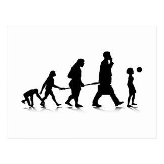 Human Evolution_6 Post Cards
