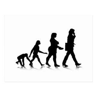 Human Evolution_7 Post Card