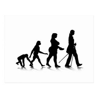 Human Evolution_8 Postcard