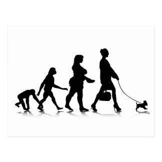 Human Evolution_9 Post Cards