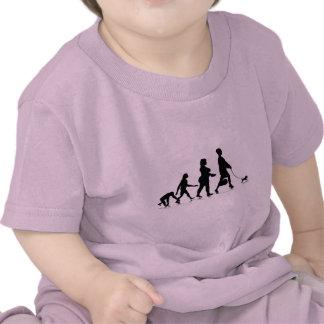 Human Evolution_9 Tee Shirts