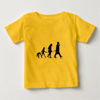 Human Evolution Baby T-Shirt