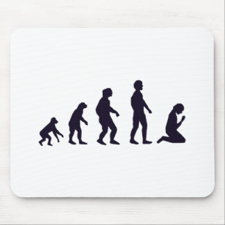 HUMAN EVOLUTION, figures, gifts Mouse Pad