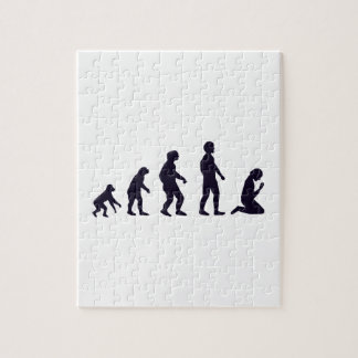 HUMAN EVOLUTION, figures, gifts Puzzle