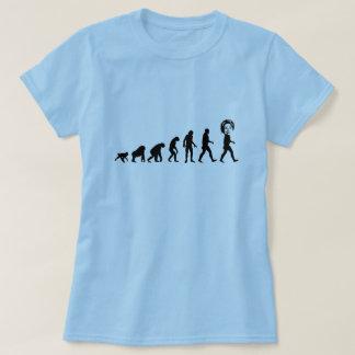 Human Evolution Hillary Clinton Tee Shirt