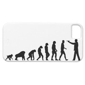 Human evolution iPhone 5 cover