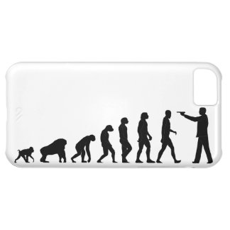 Human evolution iPhone 5C case