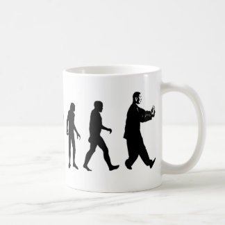 Human Evolution Tai Chi Coffee Mug