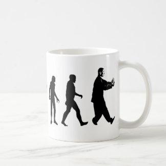 Human Evolution Tai Chi Coffee Mug