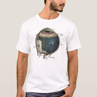 Human Eye Anatomy 1902 Vintage T-Shirt