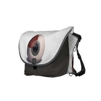 Human Eye Anatomy Commuter Bag