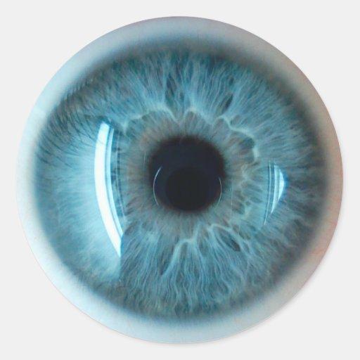 Human Eye Classic Round Sticker