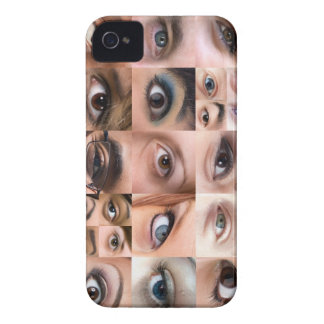 Human Eyes Montage iPhone 4 Cases
