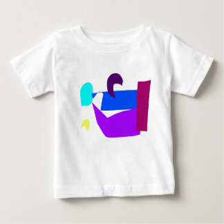 Human Face Dreamily Discovered in the Simple Neigh Baby T-Shirt