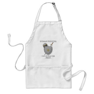 Human Fighter: For the Feats Adult Apron