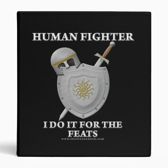 Human Fighter: For the Feats Binder