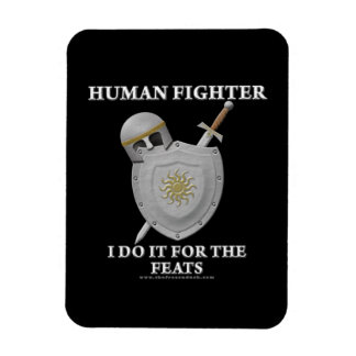 Human Fighter: For the Feats Flexible Magnets