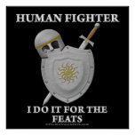 Human Fighter: For the Feats Print