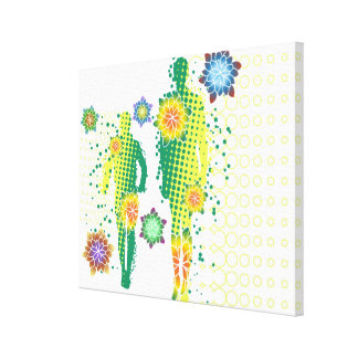Human Figure Gallery Wrapped Canvas