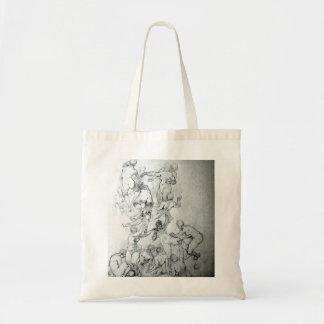 Human Figure Drawing Tote Bag