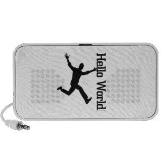 Human Figure profile Reaches Skyaward in Hope ART iPod Speaker