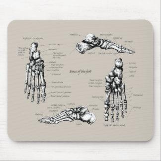 Human foot mouse pad