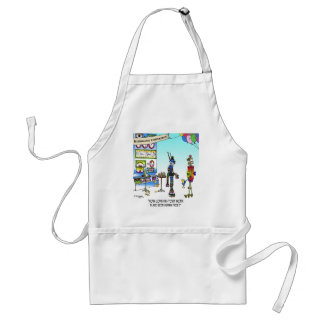 Human Free Work Place Adult Apron