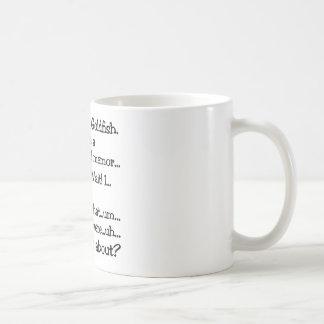 Human Goldfish Coffee Mug