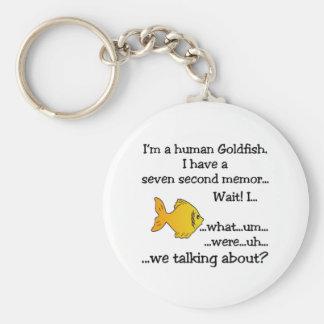 Human Goldfish Keychain