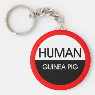 Human Guinea Pig Key Chains