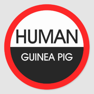 Human Guinea Pig Stickers