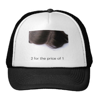 Human_Hair_Toupee, 2 for the price of 1 Trucker Hat