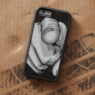 Human Hand Finger Pointing Tough Xtreme iPhone 6 Case