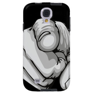 Human Hand With Finger Pointing Samsung Galaxy S4 Galaxy S4 Case