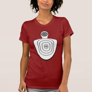 Human Head Body Bullseyes Shirt