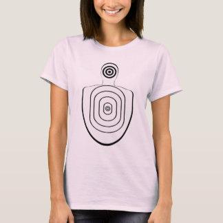 Human Head Body Bullseyes T Shirt