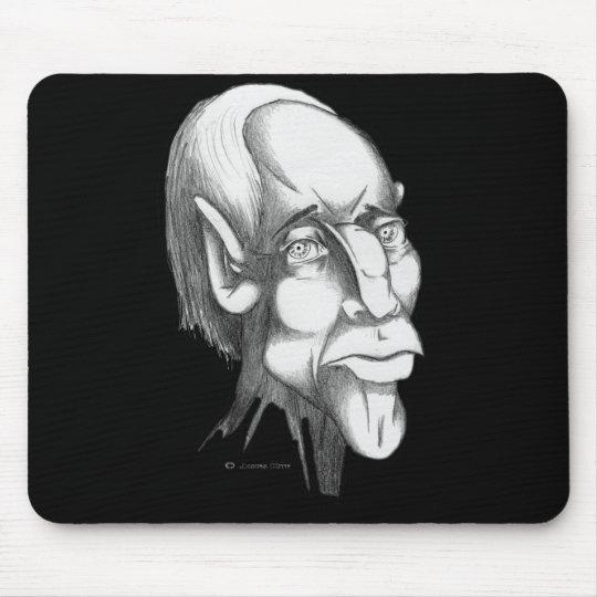 Human Head: Concern Mouse Pad