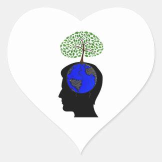 human head side blue globe brain tree growing.png heart sticker