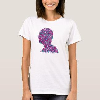 Human head wired T-Shirt