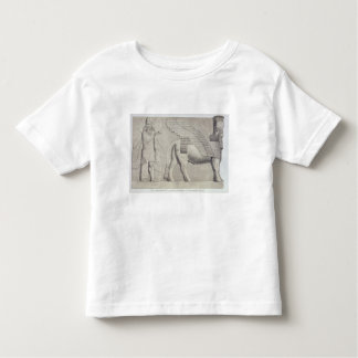 Human-headed Bull and winged figure from a gateway Toddler T-shirt