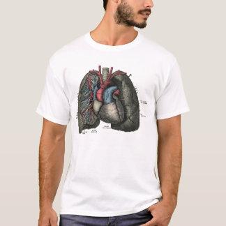 Human Heart Anatomy 1902 Vintage T-Shirt