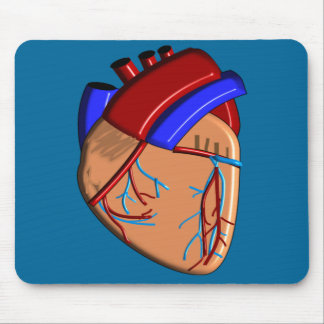 Human Heart iPhone and Electronics Cases Mouse Pad