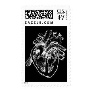 Human Heart Postage