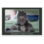 Human is a state of mind print
