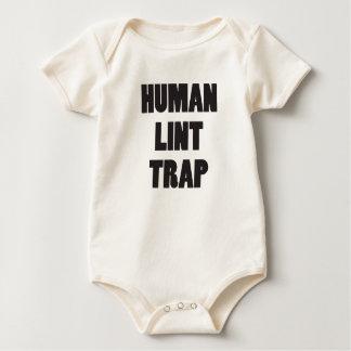 Human Lint Trap Baby Bodysuit