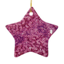 Human liver cells with cancer ceramic ornament
